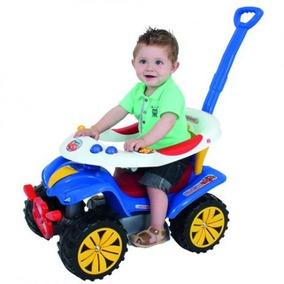 Carrinho De Passeio Infantil Motoca Com Direção Biemme