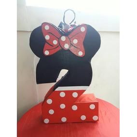 Piñata, Centros De Mesas De Minnie Y Mickey Mouse