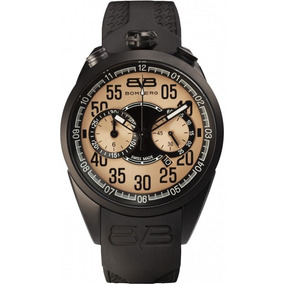 Reloj Bomberg Cronógrafo Negro