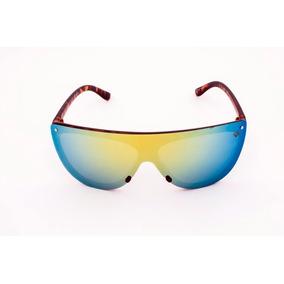 0b716019da8d9 Oculos De Sol Esportivo Drop Me Las Lente Unica Tricolor