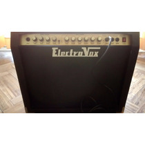 Amplificador Electrovox Valvetech 60r Watts Con Reverb