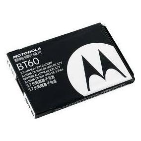Bateria Celular Motorola Bt60 10 Piezas