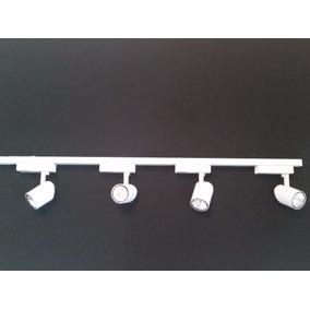 Kit 2 Trilho Eletrificado Mais 5 Spots Led 7w Lampada Par 20
