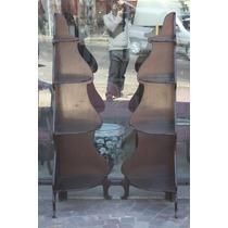 Dos Muebles Esquineros Rinconeros C/ Estantes Estilo Ingles