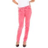 Pantalon Wrangler Molly Color Gab Elast Frutilla Mujer