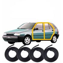 Kit Borracha Porta Fiat Tipo 4 Portas - 4 Pecas Mod Original