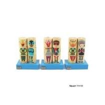 Coleção Cilindros - Monstros E Heróis - Brinquedo Educativo