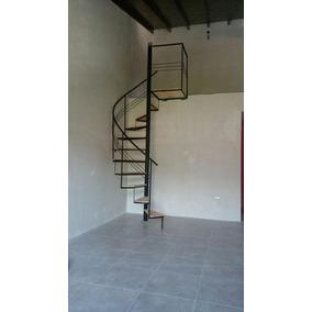 escaleras caracol hierros maderas economicas