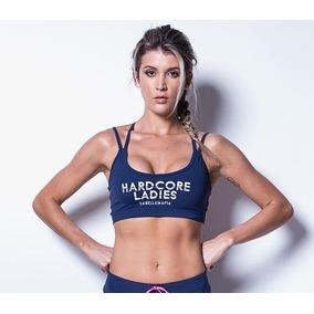 Top Labellamafia Top Hardcore Ladies Blue
