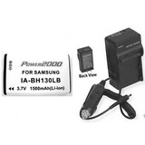 Battery + Charger For Samsung Smx-c24un, Samsung Smx-c200, S