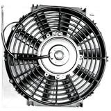 Electro Ventilador Para Adaptar 12 Volts 9 Pulgadas (22,5cm)