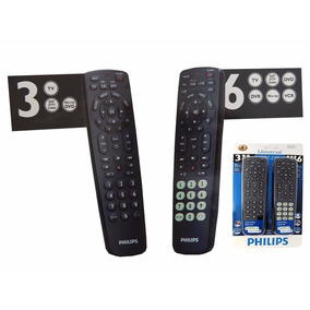 Control Universal Phillips 2x1 Tv Dvd Cable Para Toda Marca