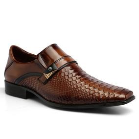 Sapato Social Cobra Prateado Sapatos Sociais Masculino - Sapatos no ... 0f123de70f