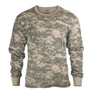Camiseta Rothco Manga Larga Camuflada