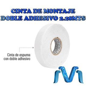 Cinta De Montaje Doble Adhesivo 2.28 Mts Blanca