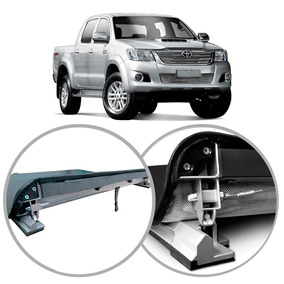 Capota Hilux Maritima Flash Force Cab.dupla 2005/2015 Lona