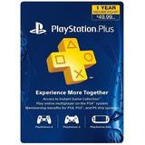 Tarjeta Playstation Network Plus 12 Meses Ps4 Ps3