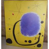 Cuadros Joan Miro Canvas De Algodon Con Bastidor Y Laminas