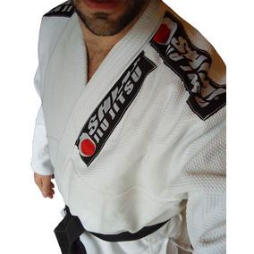Kimono Jiu Jitsu Shiai Tramado Liviano Blanco