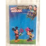 Carpeta Con Gancho De Figura Animada Mickey Mouse
