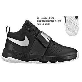 Tenis Nike Team Hustle D 8 Jr Niño Tallas 17-22mx