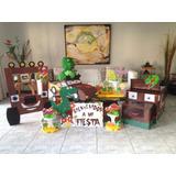 Combo Piñata ,caja Regalos, Marco Chupetera Centros De Mesa