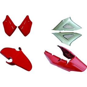 Carenagem Cbx 250 Twister Vermelho 2001/2002 Kit Completo
