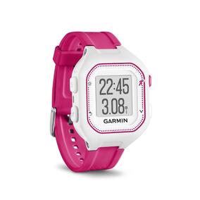 Relógio Gps Garmin Forerunner 25 Branco/rosa