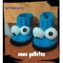 Zapatitos Tejidos - Comegalletas Tejido A Mano Crochet