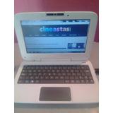 Laptop C*a*n*a*ima Letras Rojas Plana