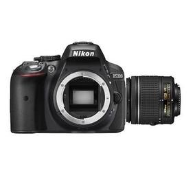Cámara Nikon D5300 Con Lente Af-p Dx Nikkor 18-55mm F/3.5-5