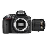 Cámara Réflex Digital Nikon D5300 Lente Nikkor 18-55mm F/3.5