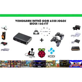 Vídeogame Retro Com 6300 Jogos 2 Controles Usb Ps2