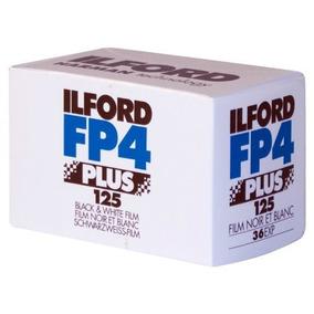 3 Rollos : Ilford Fp4 Más Negro Y Blanco Negativo Película