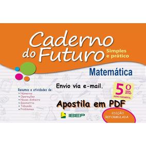 Caderno Do Futuro 5º Ano Matemática - Do Aluno