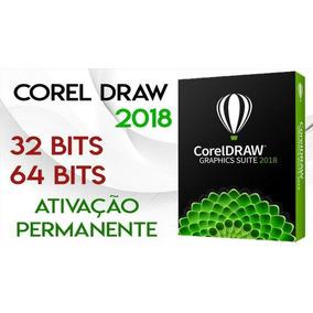 Licença Não Reverte Corel Draw 2017/2018 +100,000 Vetores