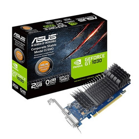Placa De Video Asus Nvidia Geforce Gt 1030 2gb Gddr5