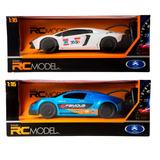 2 Autos Rcmodel Radio Controlado R/c 1:16 Recargable Y Luz