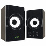 Eagle Arion Et-ar302-bk 2.0 Soundstage Speakers - 3 Inch Dri