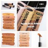 Maquillaje 2 En 1 Santee Gama De 16 Piezas 360