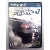Need For Speed Prostreet Play Station 2 Ps2