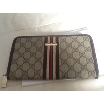 Porta Chequera Para Dama Gucci