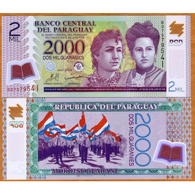 Paraguai 2000 Guaranies 2011 P. 228c Fe Polímero - Tchequito