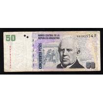 Billete 50 Pesos Tirada Corta Bottero 3629