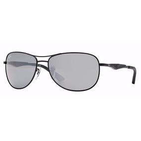 Oculos Ray Ban Rb3519 006 6g Preto  cinza Espelhado Original. R  689 7181eec3be