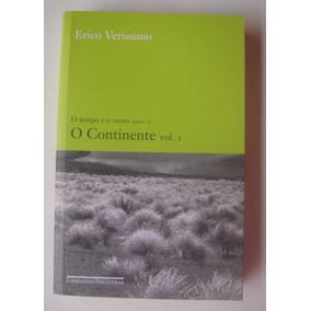Livro - Erico Verissimo: O Continente - Vol. 1 & 2 (novos)