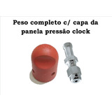 Peso Completo Com Capa Da Panela De Pressão Clock