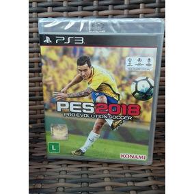 Pes 18 Ps3 Pro Evolution Soccer 2018 Ps3 Disco Físico Pt Br