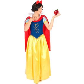 Fantasia Princesa Branca De Neve Adulto Luxo Original Disney