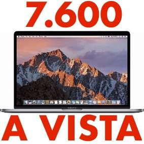 Macbook Pro 13 Touchbar I5 3.1 8gb 512 Ssd 2017